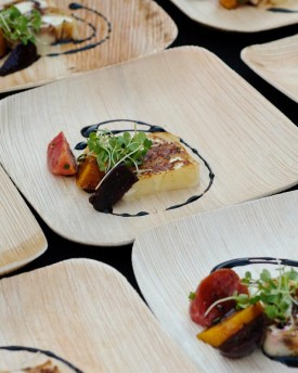 Palm Leaf Plates and Bowls Use