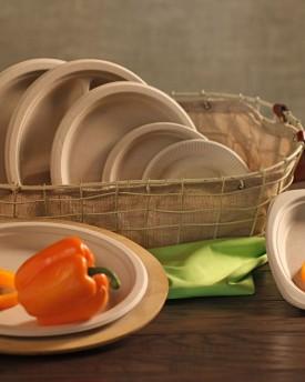 Kraft Fiber Plates