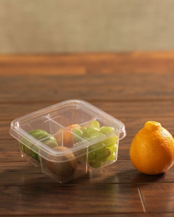 Clear PLA Bento Box and Lids