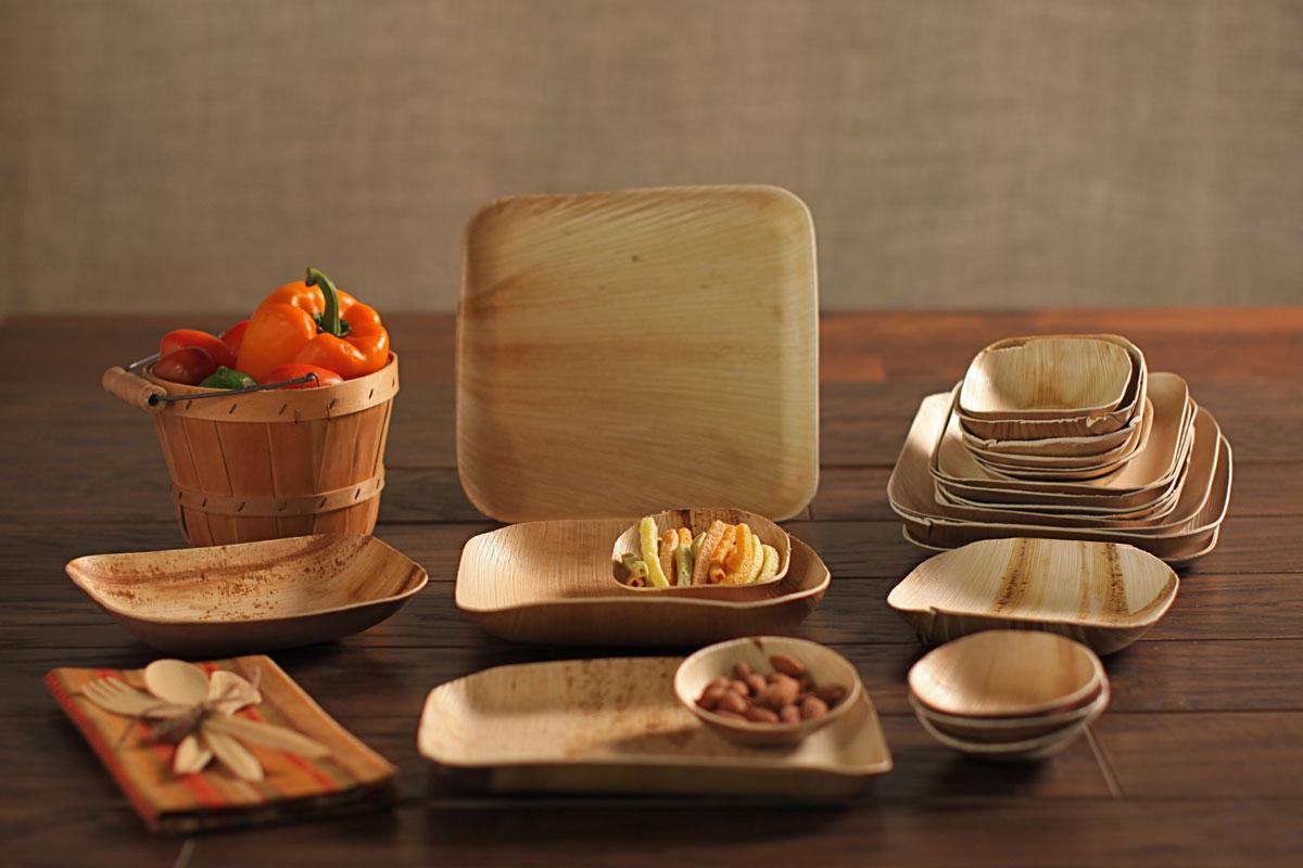 Fallen Palm Leaf Plates And Bowls Onyx Company