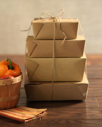 Kraft Paper To Go Containers