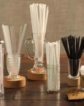PLA Straws and Stirrers