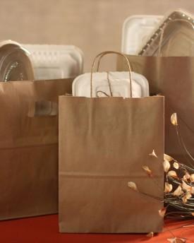 Kraft Handle Bags